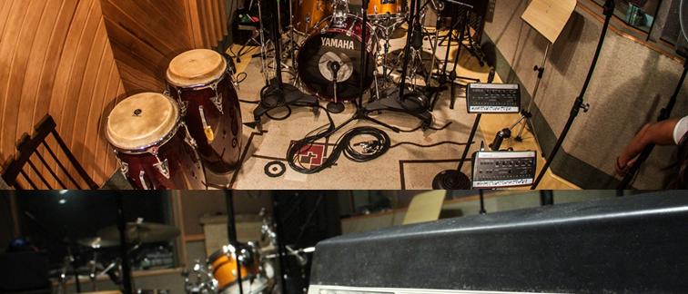Gravação ao vivo para sua banda ou seu projeto musical - Estúdio do Tuto