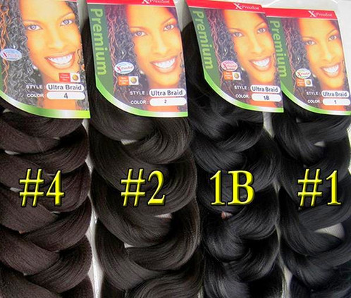 100 xpression kanekalon hair ultra braid jumbo braiding hair for a full head you would need 3 4 packs this depends on the length and volume you require shorter lengths require less packs and longer lengths more pmusecretfo Choice Image