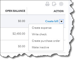 How to Create and Use Vendor Records in QuickBooks Online