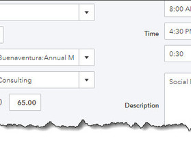 Billing Customers for Time and Expenses in QuickBooks Online