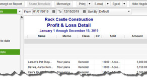 Creating Reports in QuickBooks, Part 2