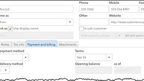 Using QuickBooks Online's Customer Records