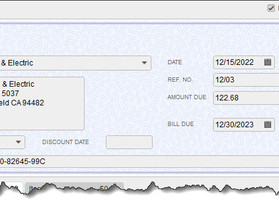 Keep Up With Payables: Entering Bills in QuickBooks