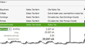 Setting Up Sales Tax in QuickBooks, Part 2