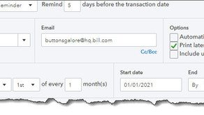 How to Create Recurring Transactions in QuickBooks Online
