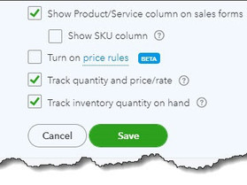 How to Create Product Records in QuickBooks Online, Part 2