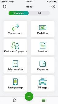 QuickBooks Online's Mobile App: The Basics