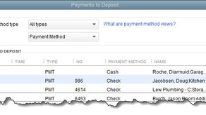 Dealing with Deposits in QuickBooks