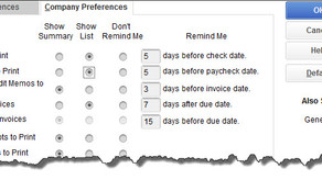 Are You Using QuickBooks' Reminders?