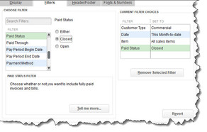 Know Where You Stand: Use QuickBooks Reports