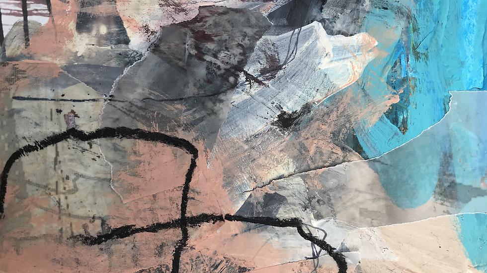 """"""" Desert Dreaming """" Framed Original Artwork"""