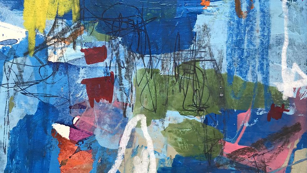 """"""" Depths of Understanding """" Framed Original Artwork"""