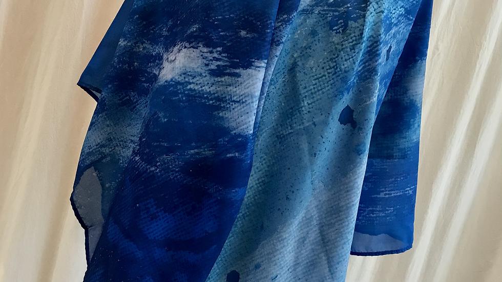Blue Crush - ART SCARF