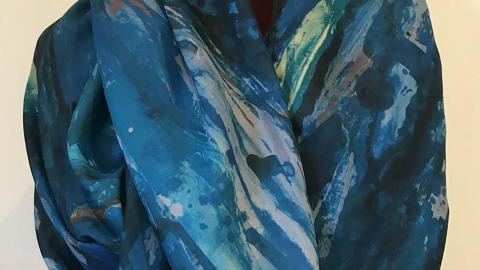 Blue Skies - ART SCARF