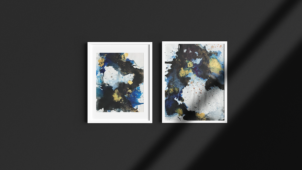 From Above or Down Below - Set of two