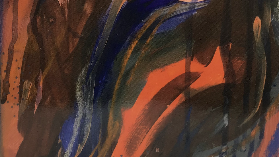 Orange Smash - ART CARD