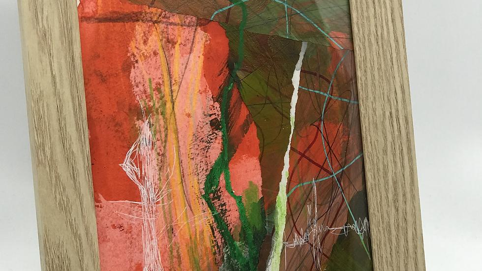 """ Life at Sea "" Framed Original Artwork"