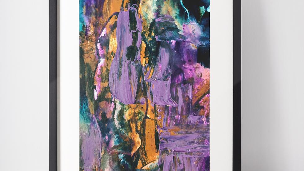 Purple Mess - Set of two