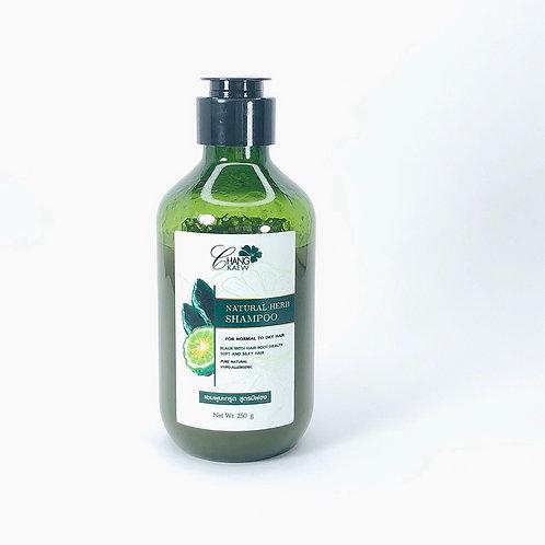 แชมพูมะกรูด มีฟอง (Natural  Herb Shampoo)