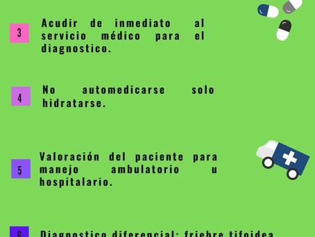 26 de Agosto día internacional contra el Dengue.