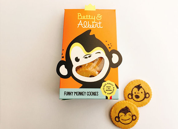 Funky Monkey Cookies