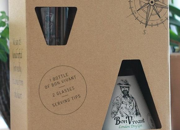 Geschenkbox Bon Vivant Gin