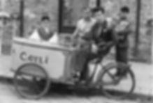 Vintage Sicilian Gelato Cart