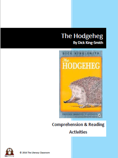 The Hodgeheg by Dick King-Smith Reading and Comprehension Activities
