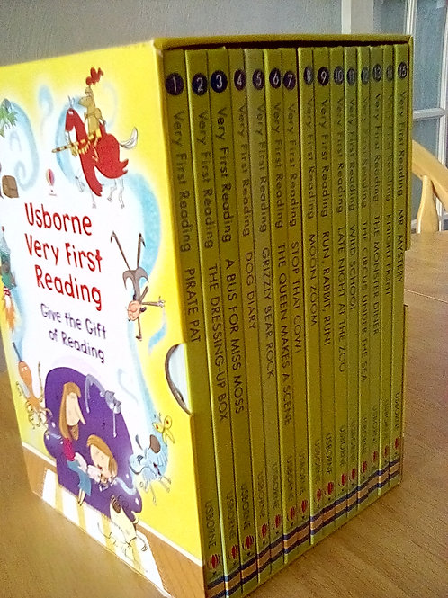 Box set of Usborne Very First Readers