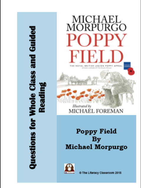 Poppy Field by Michael Morpurgo: Questions for Whole Class and Guided Reading