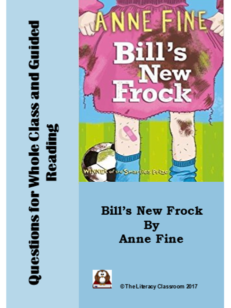 Bill's New Frock: Differentiated Questions for Whole Class and Guided Reading