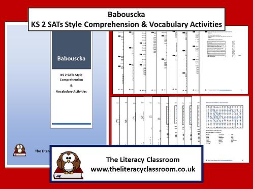 Babouscka KS2 SATs style Comprehension & Vocab Activities