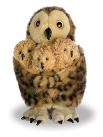Owl Babies Glove and Finger Puppet Set