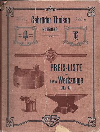 Katalog Gebrüder Theisen 1905