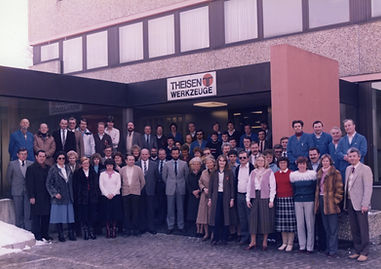 Belegschaft Firma Theisen