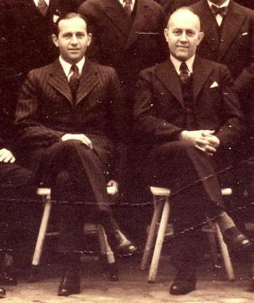 Dr. Max und Georg Theisen