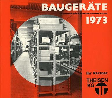 Beugeräte Katalog Theisen KG 1973