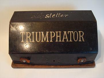 Rechenmaschine Triumphator 1920