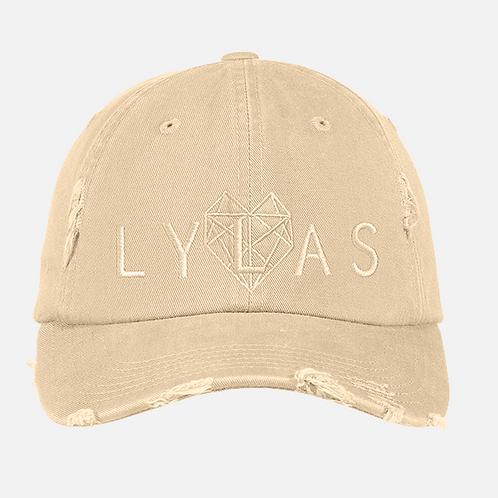 LYLAS Hat: Distressed Stone