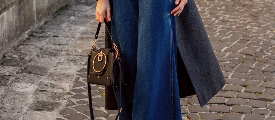 Fall Closet Upgrade: Wide-Leg Jeans