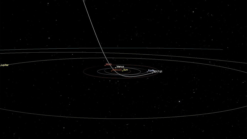 First Messenger Asteroid