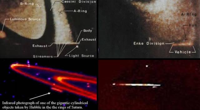 Satürn'de Görülmüş UFO'lar