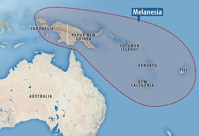 Melanezya Bölgesi