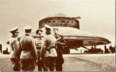 Nazilerin UFO'su