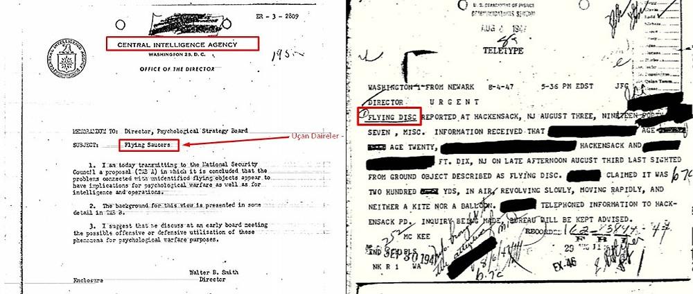 CIA UFO Dosyası