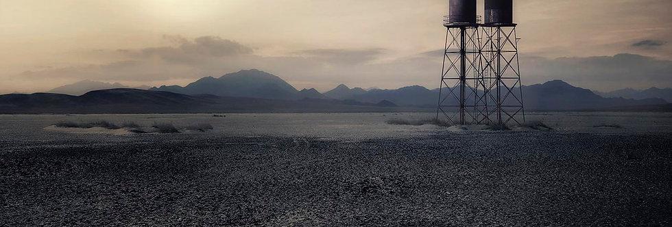 Water Tower Nevada by Dirk Karsten