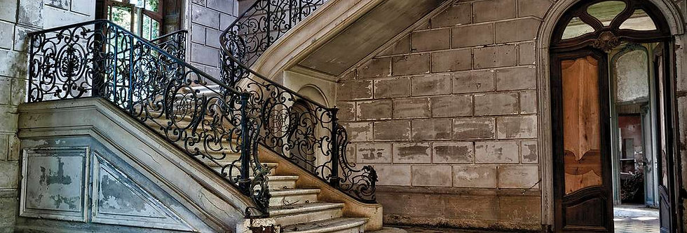 Marble Stairs by Bruno Delattre