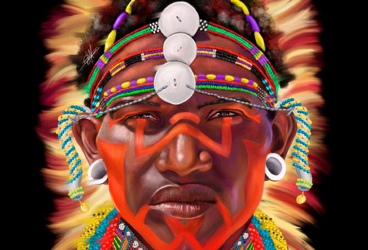No Black No White -  Samburu