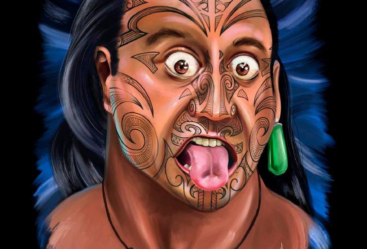 No Black No White -  Maori