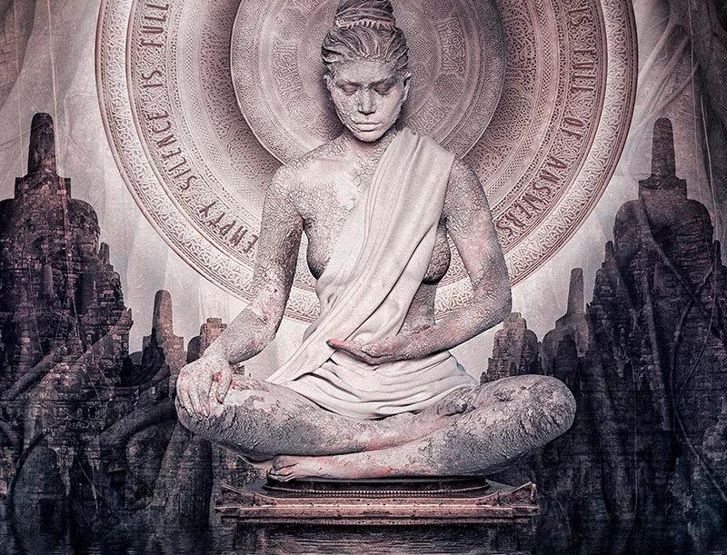 Silence isn't Empty Budda by Hans Petersen
